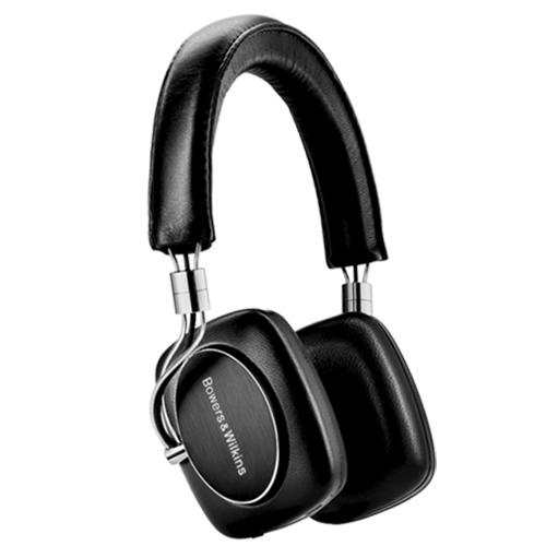 Bowers & Wilkins P5 Wireless Bluetooth Headphones, Portable HiFi, Black
