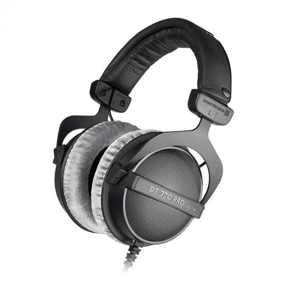 beyerdynamic DT 770 Pro 250 Ohm Over-Ear Studio Headphones in Black