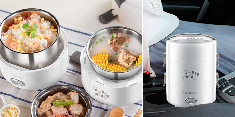 Review of JSX 2L Electric Heating Lunch Box