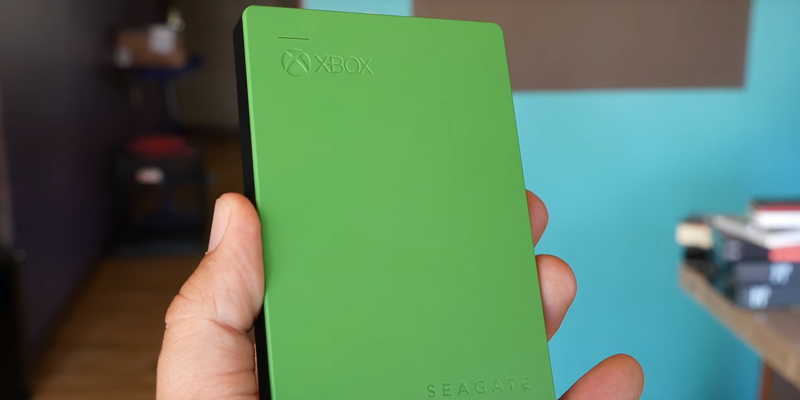 Review of Seagate Game Drive for Xbox One Standart Edition