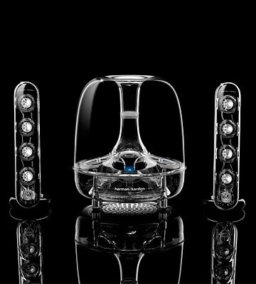 Review of Harman Kardon Soundsticks III Multimedia Speaker System with Sub