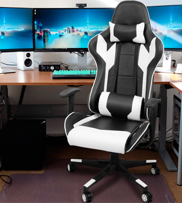 Review of Homall Racing Style Gaming Chair (with Headrest and Lumbar Support)