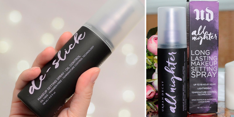 Review of Urban Decay U.D All Nighter Makeup Setting Spray