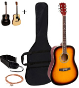 Best Choice Products 4515 Acoustic Guitar Packages