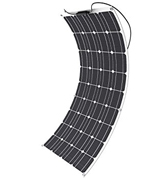 Mohoo 100W Solar Panel 100W 18V Ultra Thin Lightweight Flexible