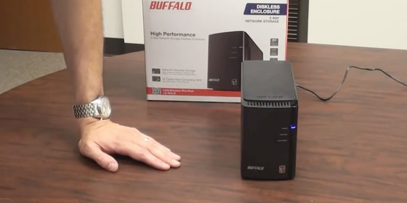 Review of Buffalo LinkStation 220 8TB NAS for Home/Office