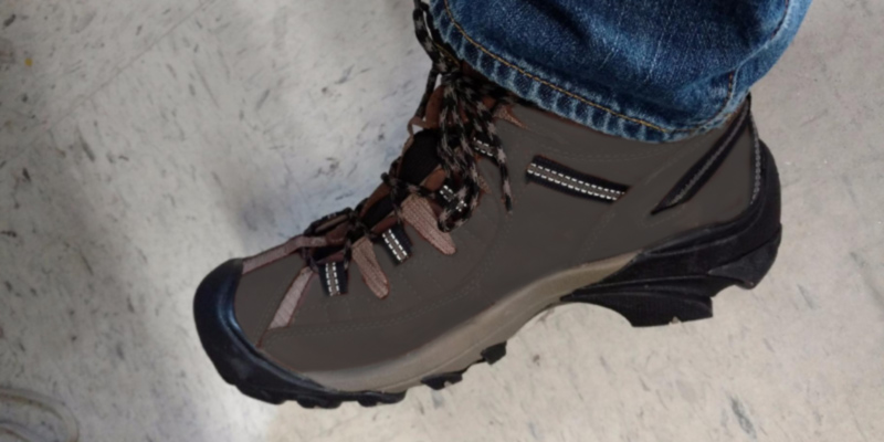 Review of KEEN Targhee II Mid-M Waterproof Hiking Boot