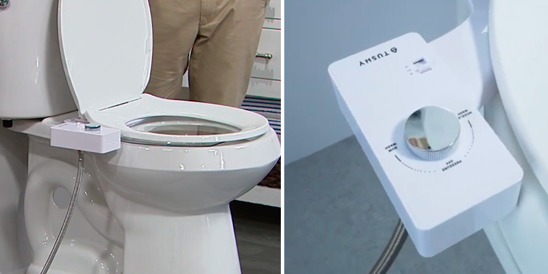 Review of TUSHY Classic Bidet Toilet Attachment Fresh Clean Water Sprayer