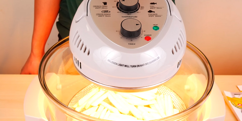 Big Boss 9228 Oil-Less Air Fryer application