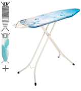 Brabantia 310102 Ironing Board with Steam Iron Rest