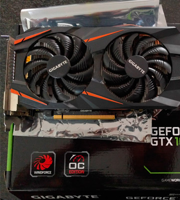 Review of Gigabyte GTX 1060 WINDFORCE OC 6G