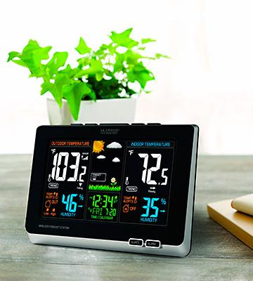 Review of La Crosse 308-1414B Wireless Weather Forecast Station with Alerts