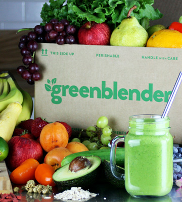 Review of GreenBlender Farm-fresh Ingredients for Superfood Smoothies Delivered Weekly