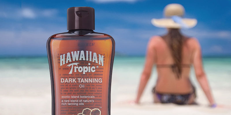 Review of Hawaiian Tropic Original Dark Tanning Oil