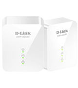 D-Link DHP-601AV AV2 1000 Mbps PowerLine Starter Kit