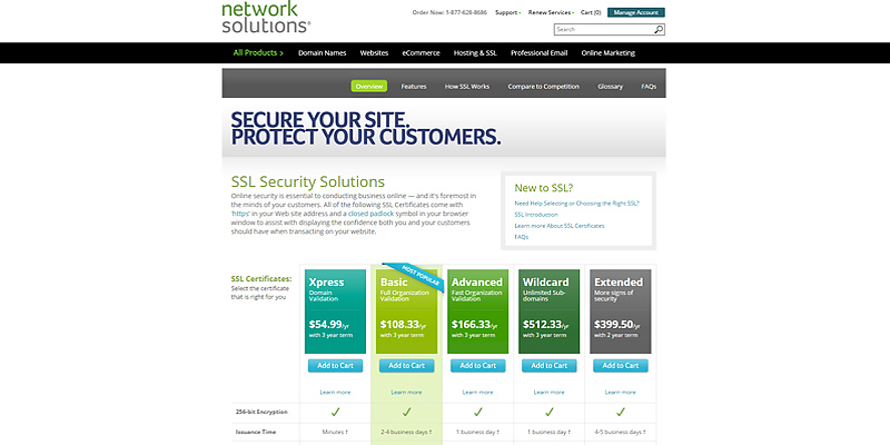 Detailed review of Network Solutions Website Creator