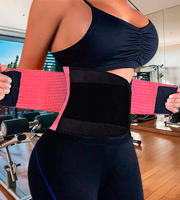 Review of VENUZOR Slimming Body Waist Trainer Belt