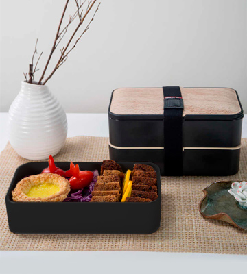 Review of GRUB2GO Japanese Bento Box Bento Food Ideas Guide
