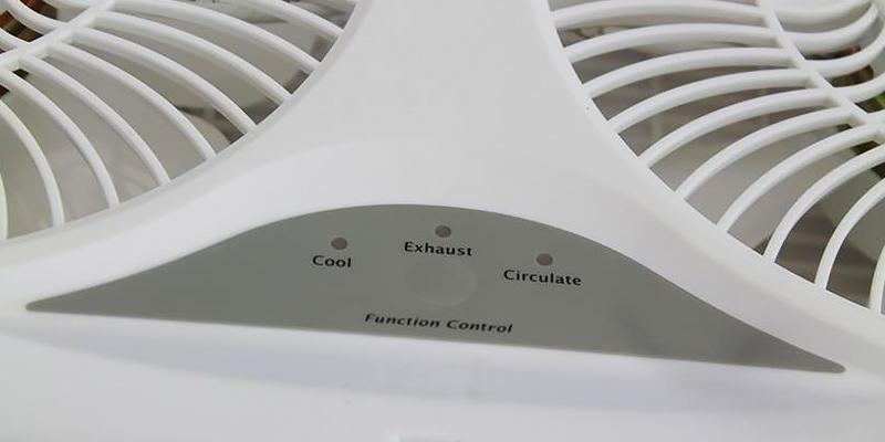 Review of HowPlumb Twin Window Fan with Remote Control