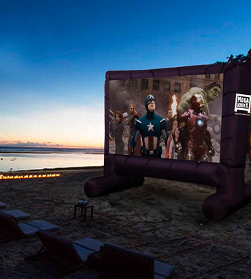 Review of EasyGo Products EGP-MOVIE-001 Inflatable Mega Movie Screen