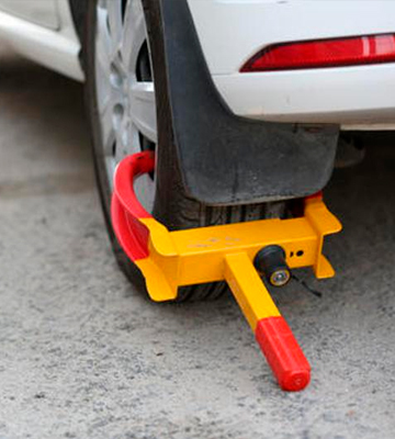 Review of VaygWay Stabilizer Anti Theft Tire Clamp Wheel Lock- Metal Boot