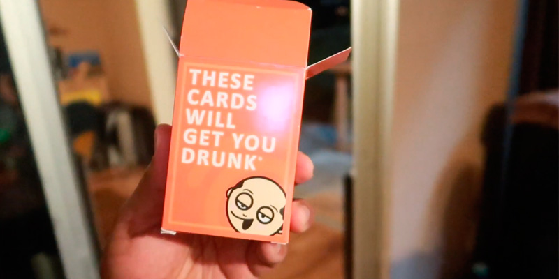 Review of These Cards Will Get You Drunk Drinking Game Fun Adult Game for Parties