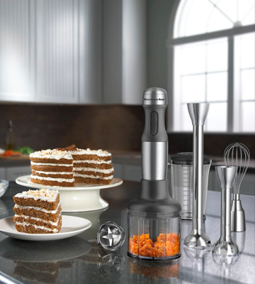 Review of KitchenAid KHB2571 SX 5-Speed Hand Blender