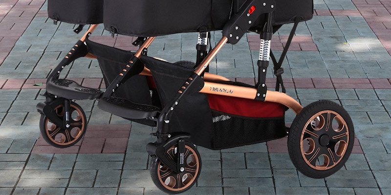 Detailed review of TZ Twin Lightweight Stroller Double Baby Pram