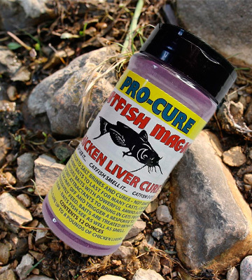 Review of Pro Cure Catfish Magic Chicken Liver Cure