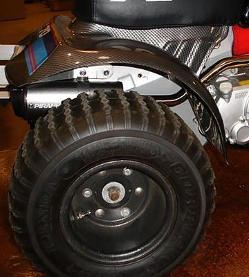 Review of Kenda Scorpion K290 ATV Tire