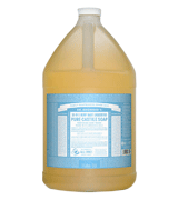 Dr. Bronner's Made with Organic Oils Pure-Castile Liquid Soap