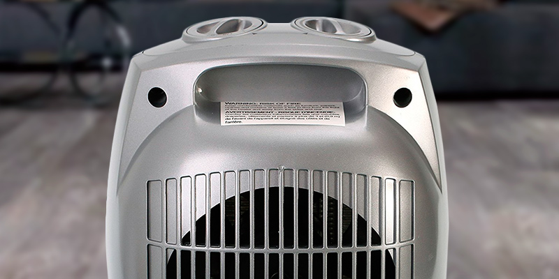 Brightown Heater 903 750W/1500W ETL Listed Ceramic Space Heater in the use