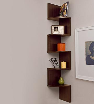 Review of Danya B XF11035 Wall Mount Shelf - Walnut