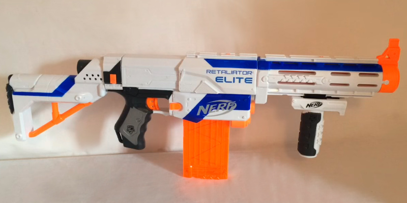 Review of Nerf 98696 N-Strike Elite Retaliator Blaster