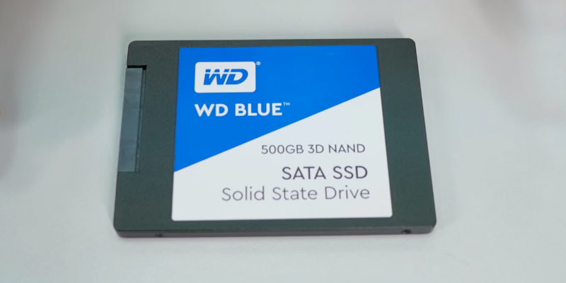 "Review of Western Digital Blue (WDS500G2B0A) SATA III 3D NAND SSD - 2.5"" Solid State Drive"