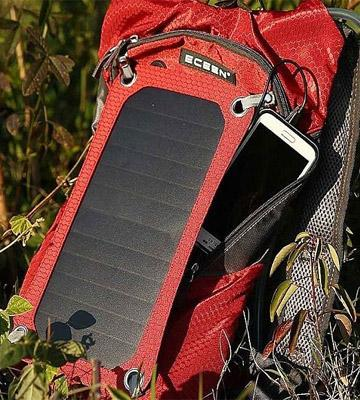 Review of ECEEN Solar Charger Backpack