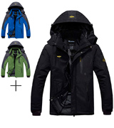 Wantdo Mountain Waterproof Windproof Men's Ski Jacket