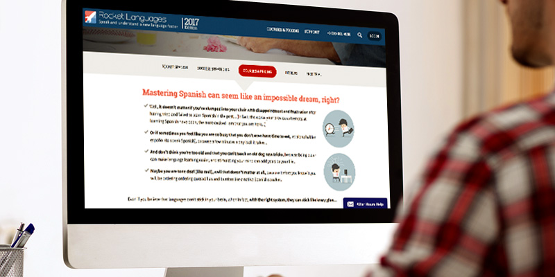 Review of Rocket Languages Learn Spanish Courses