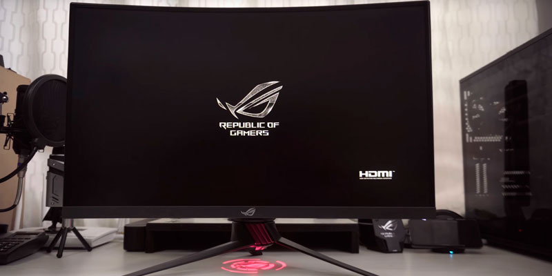 Review of ASUS ROG Strix XG27VQ Curved Gaming Monitor