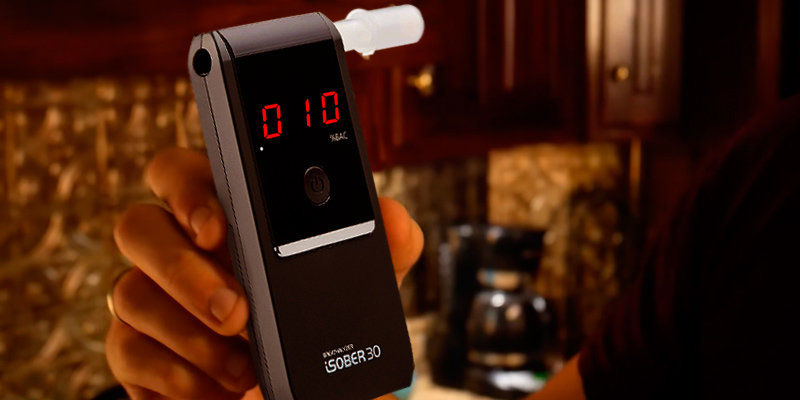 Review of iSOBER 30 Breathalyzer Best Accuracy Award Wining Portable Breath Alcohol Tester in EU