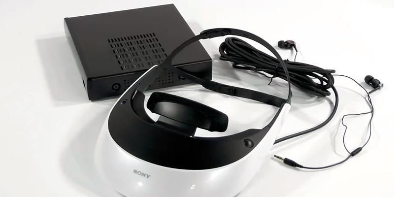 Sony HMZ-T2 Wearable HDTV 2D/3D in the use