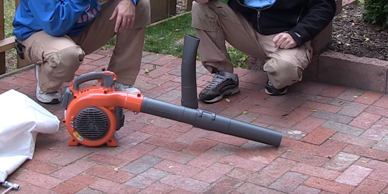 Review of Husqvarna 125BVx 28cc 2-Cycle Gas Powered 170 MPH Blower