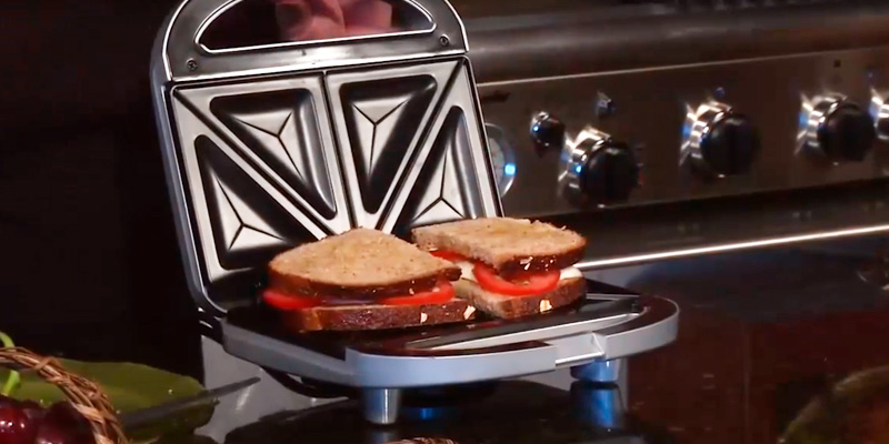 Review of Cuisinart WM-SW2N Dual-Sandwich Nonstick Electric Grill