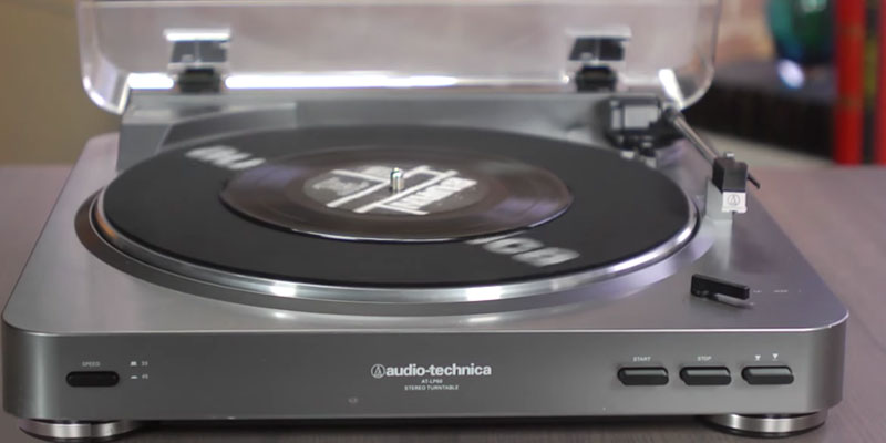 Review of Audio-Technica AT-LP60BK Stereo Turntable