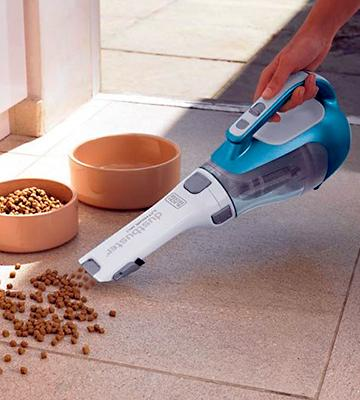 Review of Black & Decker CHV1410L 16 volt Lithium Cordless Dust Buster Hand Vac