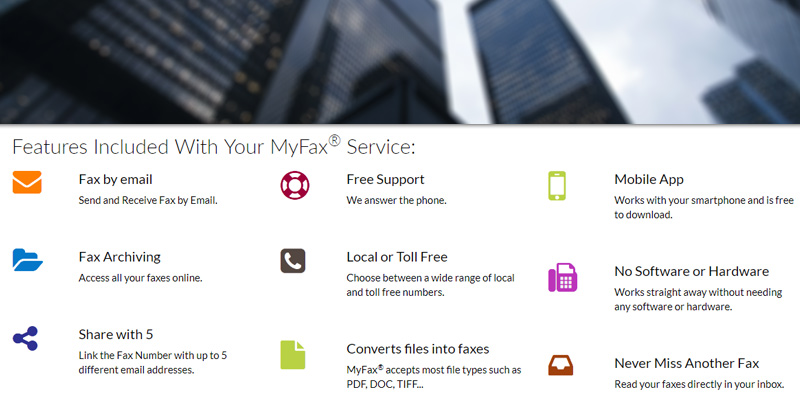Detailed review of MyFax Online Fax Service