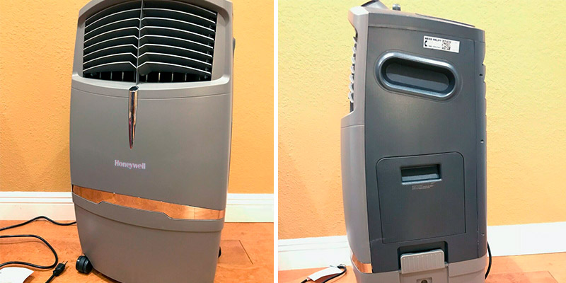 Review of Honeywell CO30XE Indoor/Outdoor Evaporative Cooler (525 CFM)