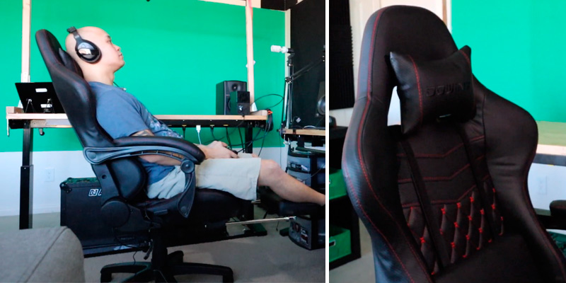 Review of Dowinx Racing Style Gaming Chair with Footrest