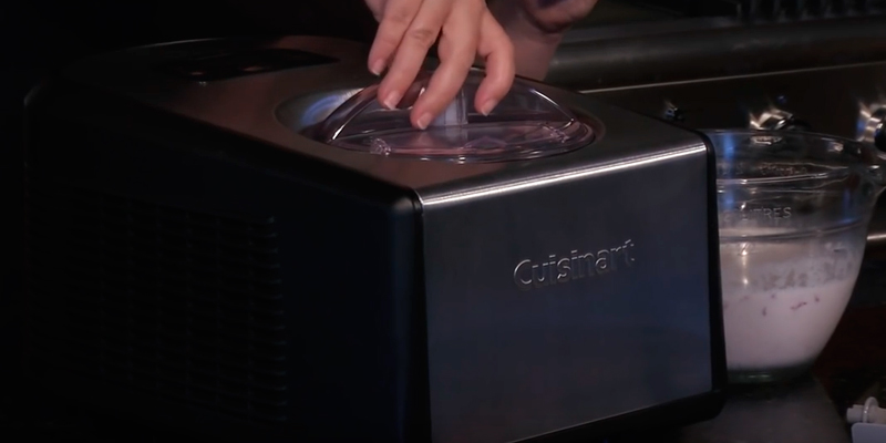 Cuisinart ICE-100 in the use