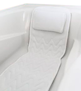 Bath Haven QuiltedAir BathBed Luxury Bath Pillow